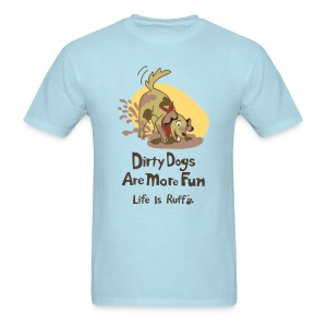 Dirty Dog Men's Standard Weight T-Shirt - Men's T-Shirt
