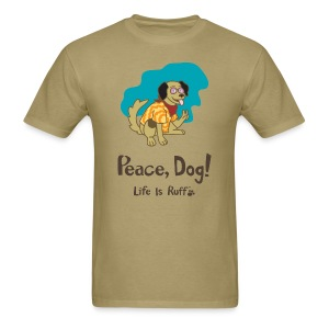 Peace Dog Men's Standard Weight T-Shirt - Men's T-Shirt