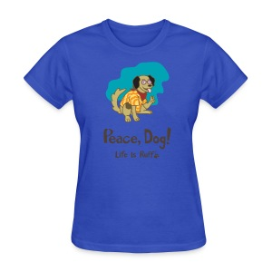 Peace Dog Women's Standard Weight T-Shirt - Women's T-Shirt