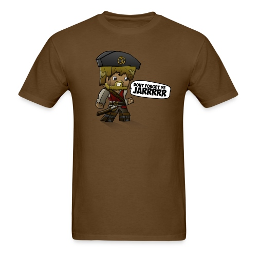 ChadTheDJ: Don't forget yee jarrr! - Men's T-Shirt