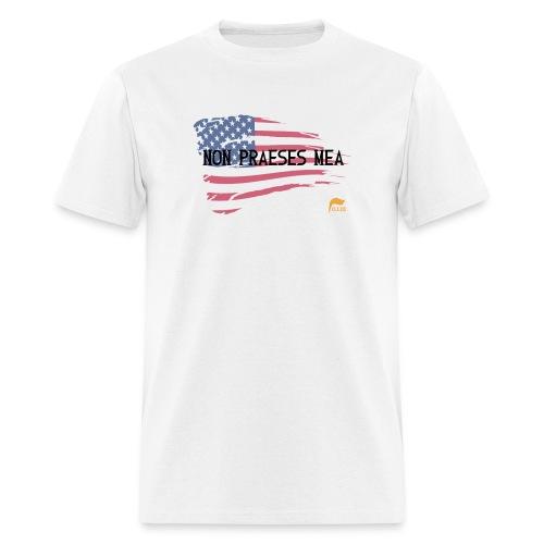 Men's T-shirt Not my president in Latin with flag - Men's T-Shirt