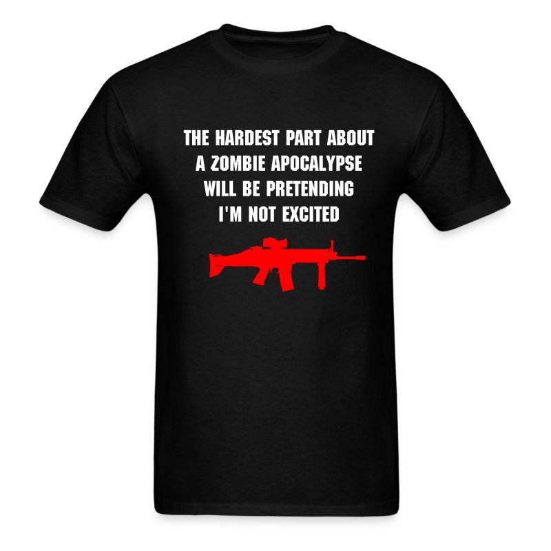 The hardest part... - Men's T-Shirt