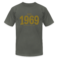 T-Shirts ~ Men's T-Shirt by American Apparel ~ est. 1969 Nineteen Sixty Nine