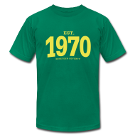 T-Shirts ~ Men's T-Shirt by American Apparel ~ est. 1970 Nineteen Seventy
