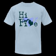 T-Shirts ~ Men's T-Shirt by American Apparel ~ Hi Five