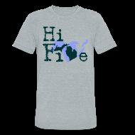 T-Shirts ~ Unisex Tri-Blend T-Shirt ~ Hi Five