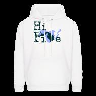 Hoodies ~ Men's Hoodie ~ Hi Five
