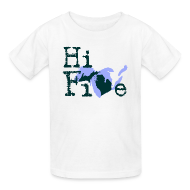 Kids' Shirts ~ Kids' T-Shirt ~ Hi Five