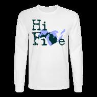 Long Sleeve Shirts ~ Men's Long Sleeve T-Shirt ~ Hi Five