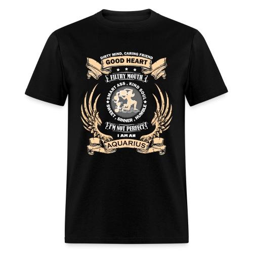 Zodiac Sign - Aquarius - Men's T-Shirt