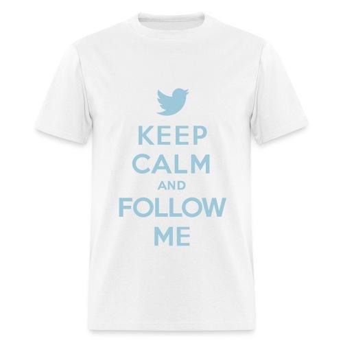 keep calm an follow me  tee  - Men's T-Shirt