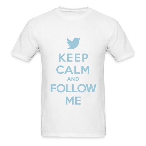 keep calm an follow me  tee  - Men's T-Shirt