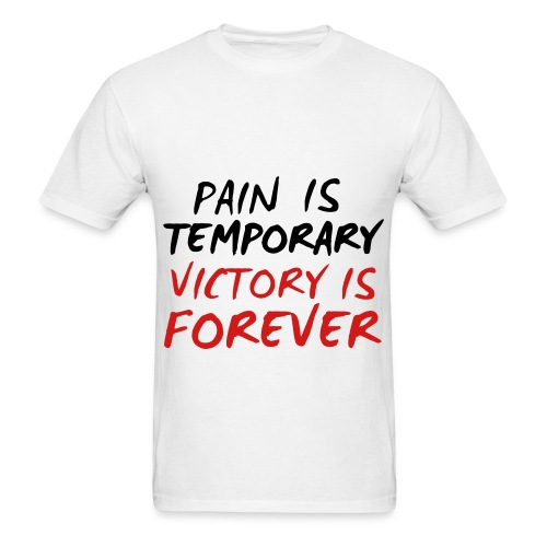 pain temp vic is forever  tee  - Men's T-Shirt