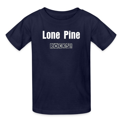 Lone Pine Rocks - Kids' T-Shirt