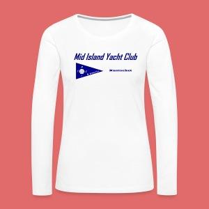 Woman's long sleeve T (front print) - Women's Premium Long Sleeve T-Shirt