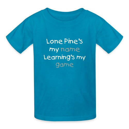 Lone Pine's my name - Kids' T-Shirt
