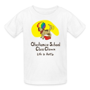 Obedience Shool Class Clown Kid's T-Shirt - Kids' T-Shirt