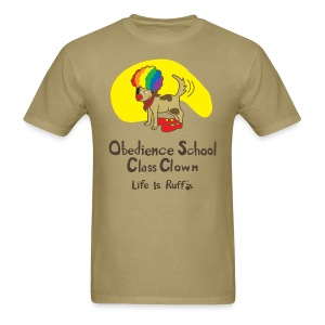 Obedience Shool Class Clown Men's Standard Weight T-Shirt - Men's T-Shirt
