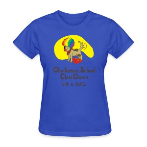 Obedience Shool Class Clown Women's Standard Weight T-Shirt - Women's T-Shirt