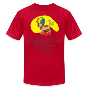Obedience Shool Class Clown Men's T-Shirt by American Apparel - Men's T-Shirt by American Apparel