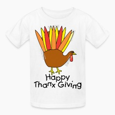 Happy Thanksgiving Kid's T-Shirt