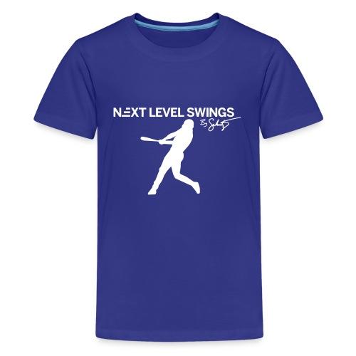 Kids Tee White Logo - Kids' Premium T-Shirt