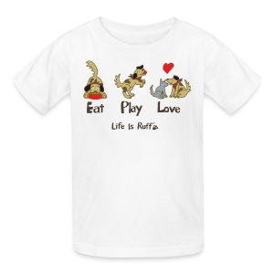 Eat Play Love! Kid's T-Shirt - Kids' T-Shirt
