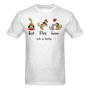 Eat Play Love! Men's Standard Weight T-Shirt - Men's T-Shirt