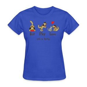 Eat Play Love! Women's Standard Weight T-Shirt - Women's T-Shirt