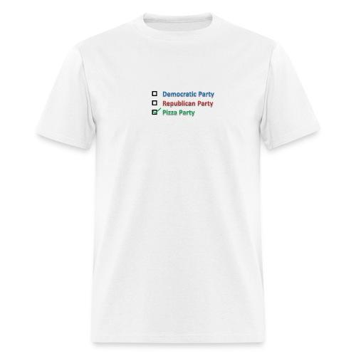 Pizza Party 2012 - Men's T-Shirt