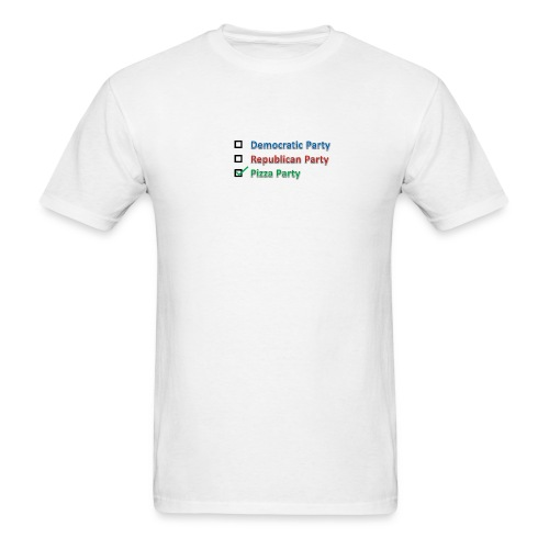 Pizza Party 2012 - Men's T-Shirt