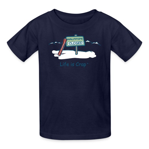 Half Pipe Closed Kids' T-Shirt - Kids' T-Shirt