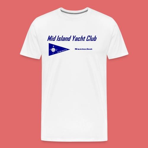 Men's short sleeve T (front print) - Men's Premium T-Shirt