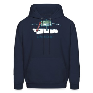 Half Pipe Closed Men's Hooded Sweatshirt - Men's Hoodie