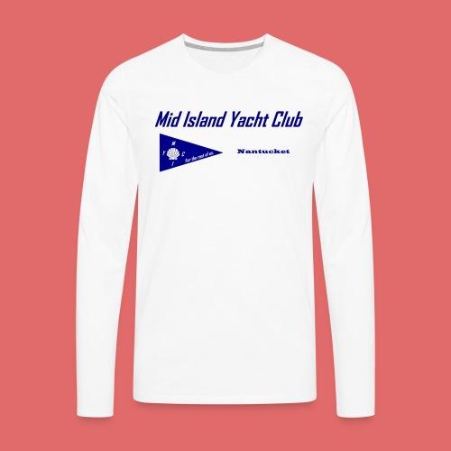 Men's long sleeve T (fron print) - Men's Premium Long Sleeve T-Shirt