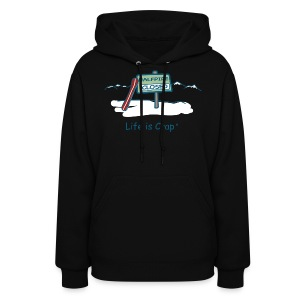 Half Pipe Closed Women's Hooded Sweatshirt - Women's Hoodie