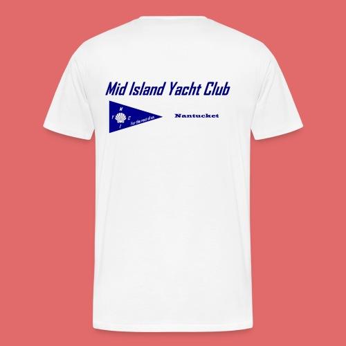 Men's short sleeve (back print) - Men's Premium T-Shirt