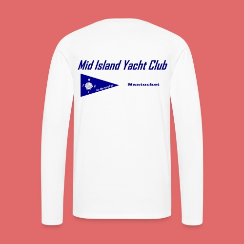 Men's long sleeve (back print) - Men's Premium Long Sleeve T-Shirt