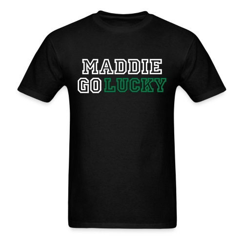 MaddieGoLucky (Men's - Black) - Men's T-Shirt