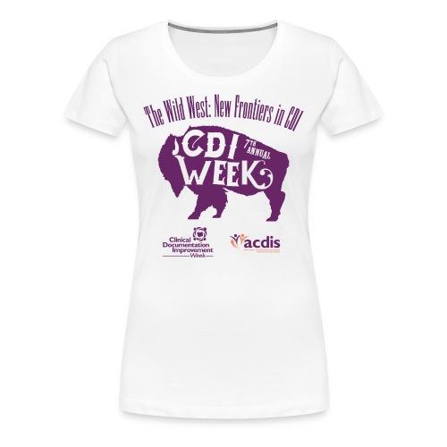 CDI Week 2017 - Women's Premium T-Shirt