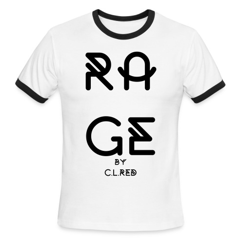 RAGE by C.L.Red - Men's Ringer T-Shirt