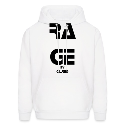 RAGE by C.L.Red - Men's Hoodie