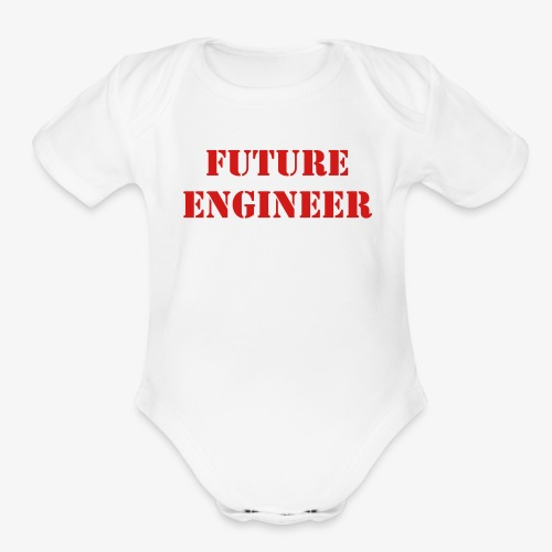 Baby Engineer - Organic Short Sleeve Baby Bodysuit