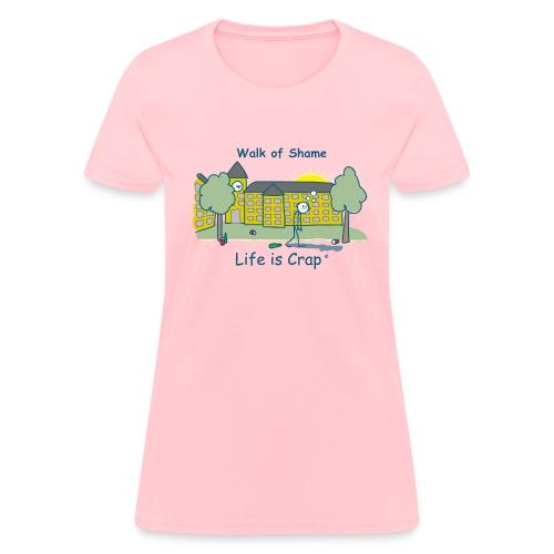 Walk of Shame Male  - Womens Classic T-shirt - Women's T-Shirt