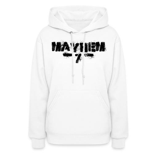 MayheM7 Logo-7 Black - Women's Hoodie
