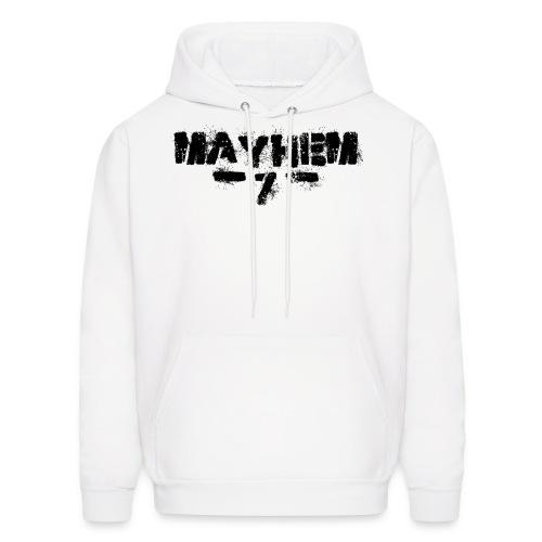 MayheM7 Logo-7 Black - Men's Hoodie
