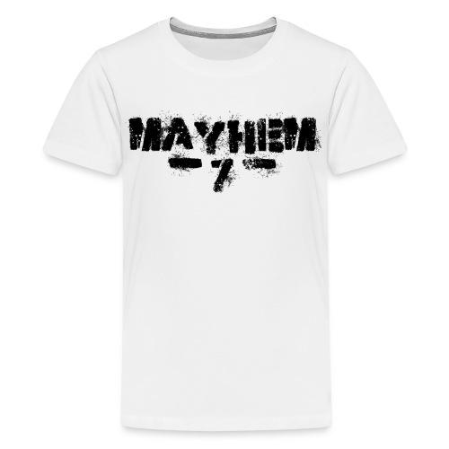 MayheM7 Logo-7 Black - Kids' Premium T-Shirt