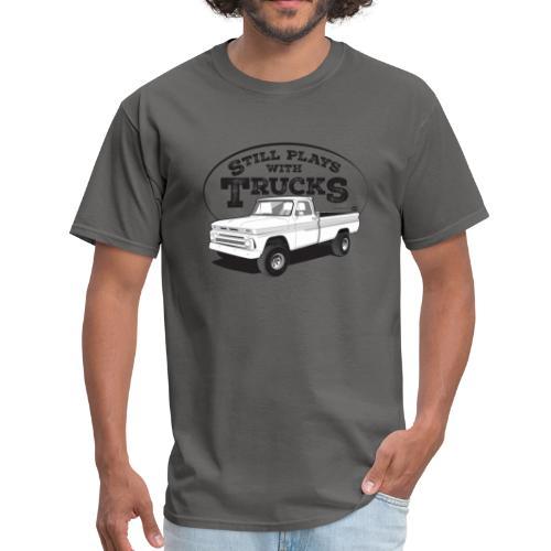 1964-66 C10 Longbed Fleetside 4x4 Tee (Black graphic) - Men's T-Shirt