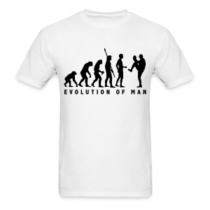 Evolution of a Pitcher - Men's T-Shirt