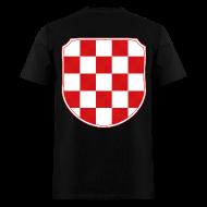 T-Shirts ~ Men's T-Shirt ~ Croatia Hrvatska historic coat of arms Sahovnica